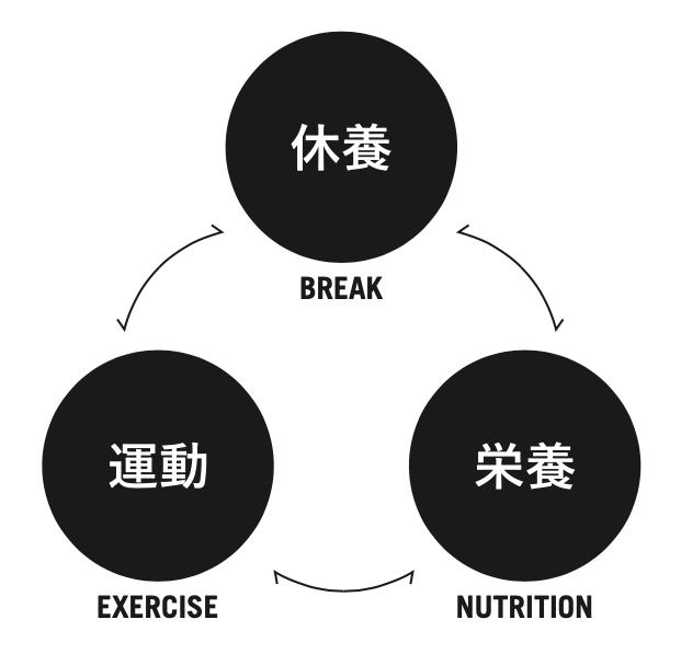 コンディショニングの3要素